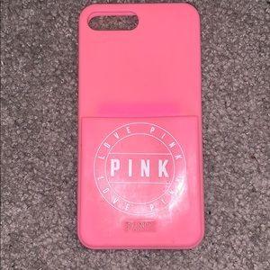 IPHONE 8 PLUS VICTORIA's SECRET PINK PHONE CASE
